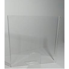 Panou de protectie tejghea/casa marcat, 800x800mm