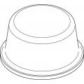 Bumponi de silicon cilindrici