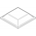 Bumponi de silicon patrati