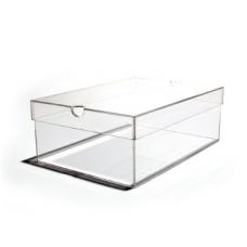 SBOX - Cutie transparenta din plexiglas pentru incaltaminte