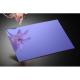 Plexiglas oglinda albastra, grosime 3 mm
