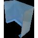 Panou separator transparent pentru pupitru, 600x550x300mm