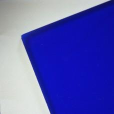 Plexiglas albastru inchis, grosime 3 mm