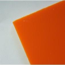 Plexiglas portocaliu grosime 3 mm